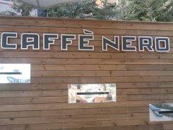 cafe nero ışıklı tabela